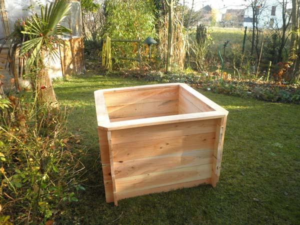 bac de jardinage carr potager sur lev et bac fleurs sur pied fiche jardinage debout pour. Black Bedroom Furniture Sets. Home Design Ideas