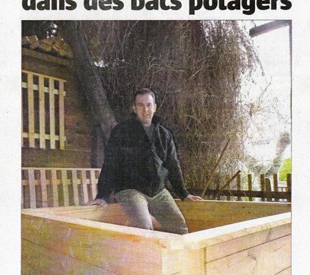 Presse Mon Bac potager dans l'Alsace